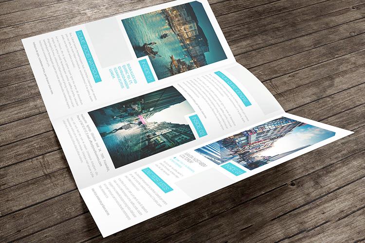 【第14期】74款经典折页画册样机+80套折页画册PSD模板合集